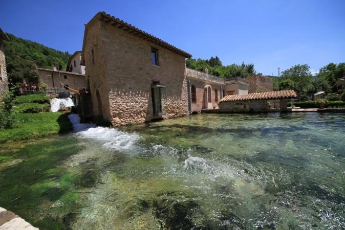 Gita a Rasiglia e Spello Tour Italia