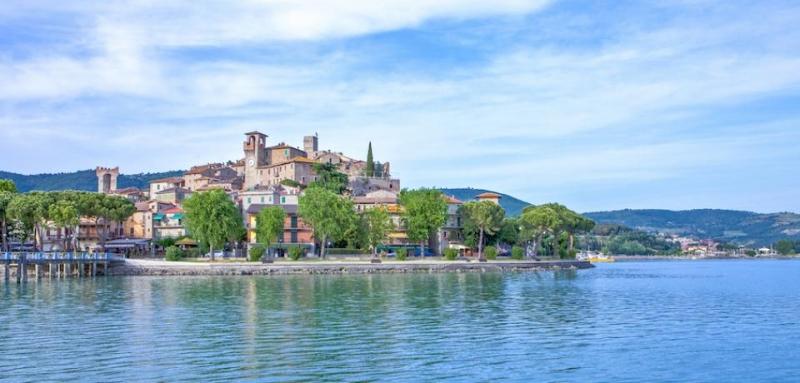 CORTONA E PASSIGNANO SUL TRASIMENO Tour Italia