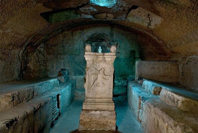 ROMA:SOTTERRANEI BASILICA DI S. CLEMENTE E GHETTO EBRAICO